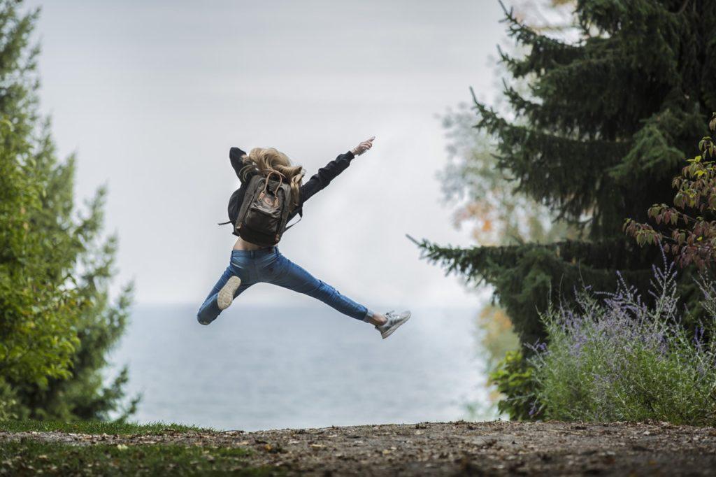 Un saut dans la nature