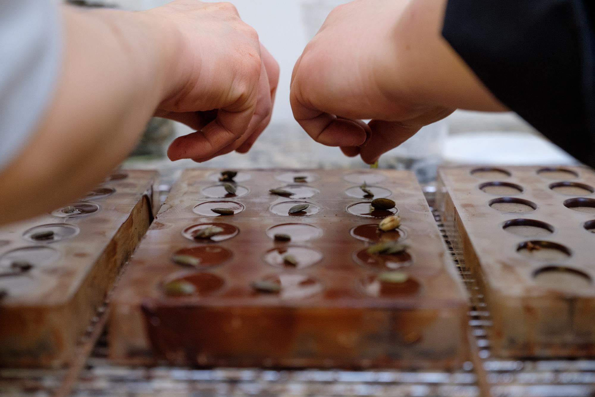 La reconversion d'une ingénieur en chocolatière