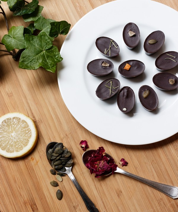 Les chocolats biologiques fabriqués à Paris par Carine, votre chocolatière.